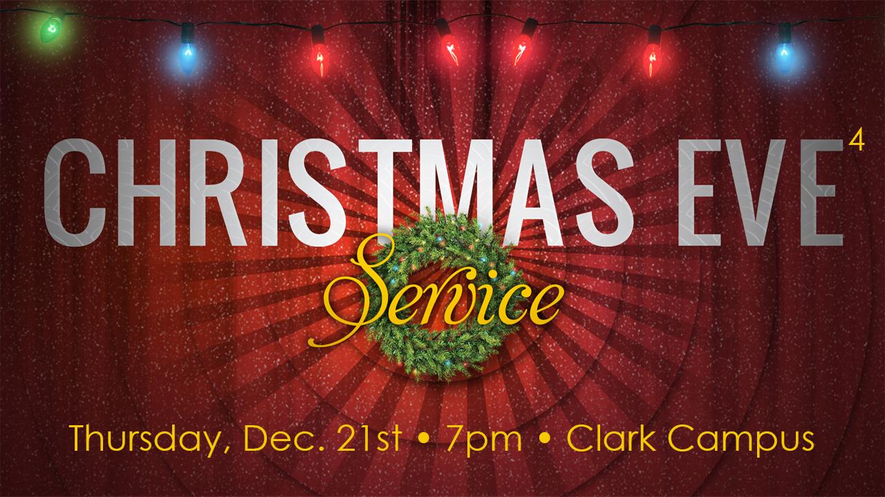 Christmas Eve Eve Eve Eve Service Kessid Church