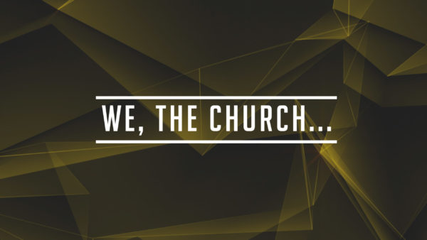 We the Church... Self Control ASL Image