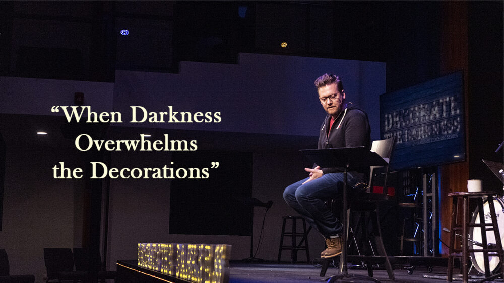 Decorate the Darkness: When Darkness Overwhelms the Decorations Image